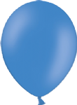 "10"" Pastel/Standard Mid Blue Latex Balloon"